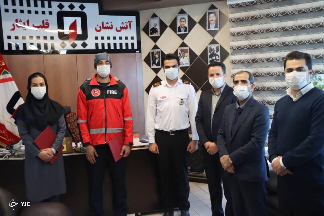 تشکیل کمیته ورزش آتش نشانان در شیراز