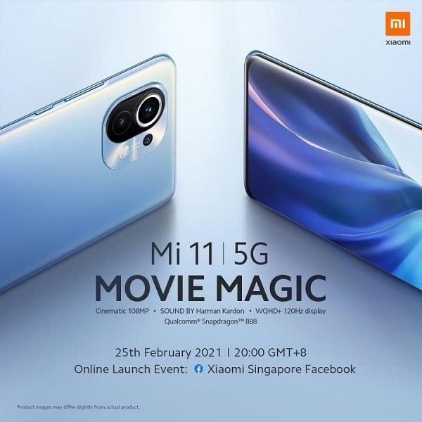 شروع عرضه گوشی شیائومی Mi 11 در خارج چین