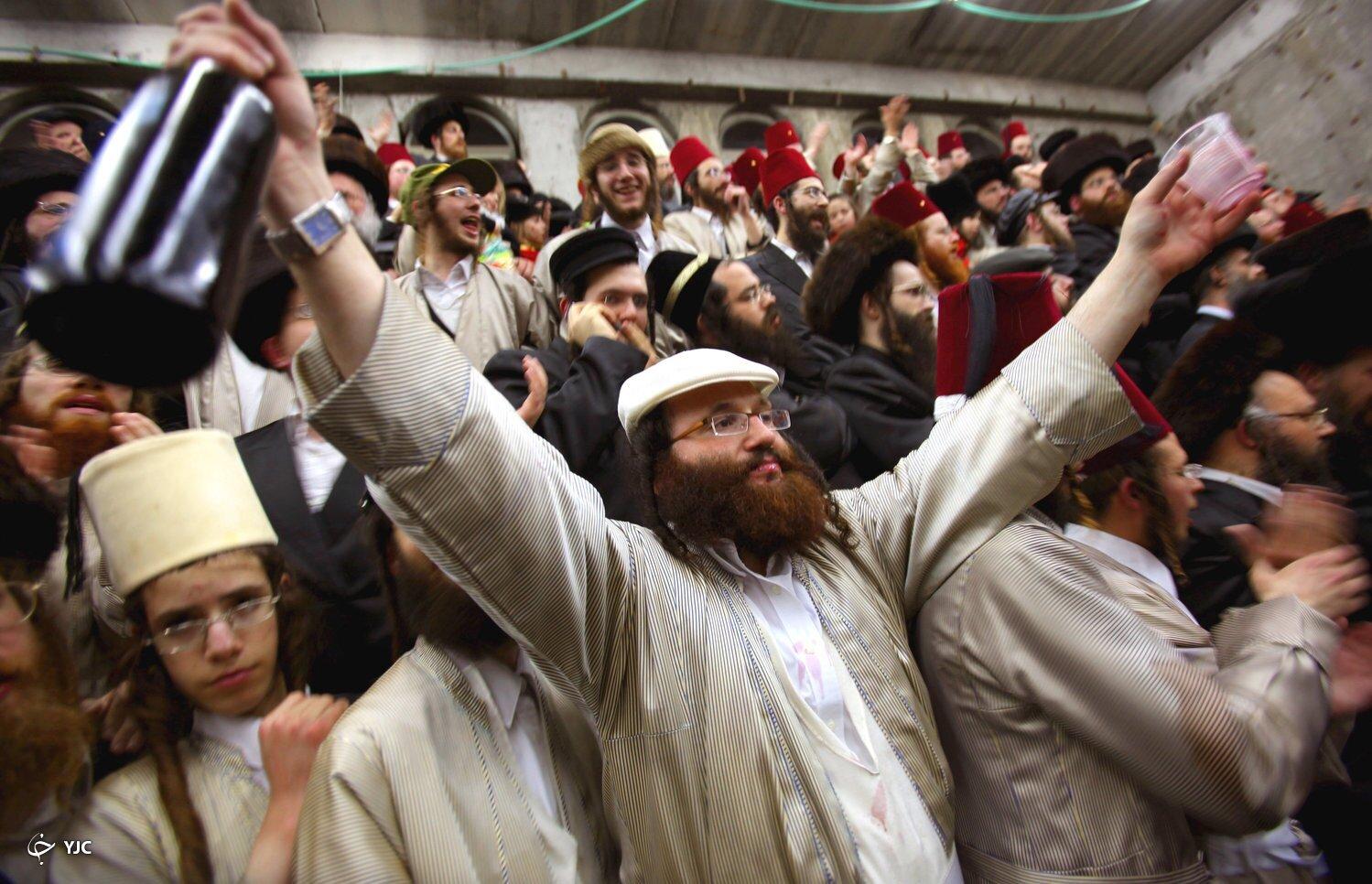 تدابیر صهیونیستها در جریان برگزاری یک جشن ضدایرانی+ تصاویر