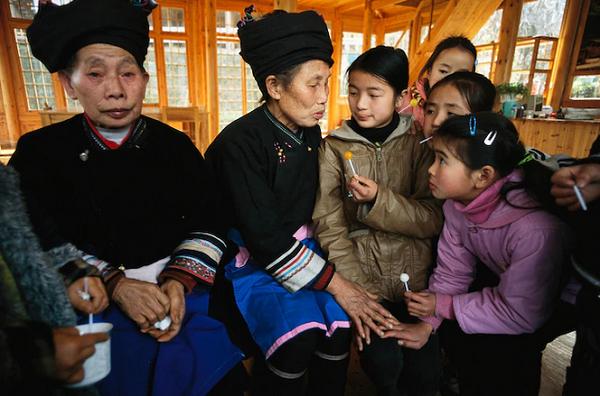 سنتهای موسیقی چینی در عکس روز نشنال جئوگرافیک