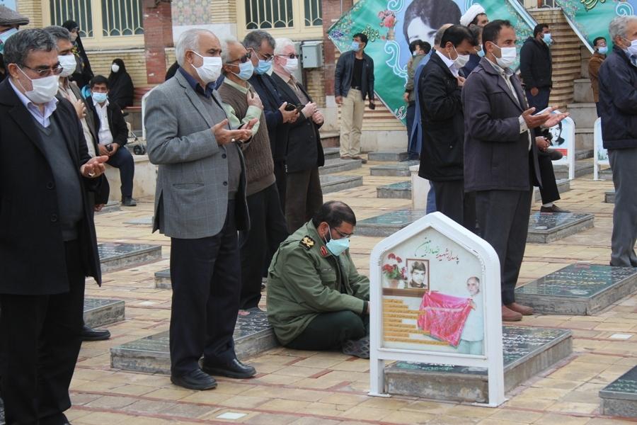 تشییع بی بی سکینه در کرمان