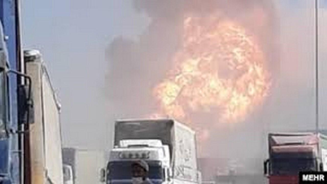 آتش اسلام قلعه همچنان دامن گیر کامیون داران/ بیمه خسارتی به کامیون داران نمیدهد!