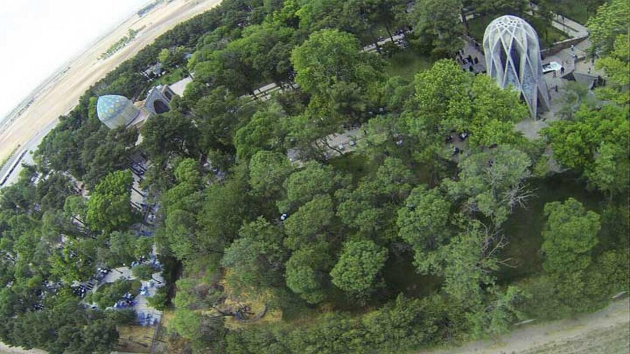 تصاویری زیبا از آرامگاه مخترع دقیقترین گاه شمار جهان