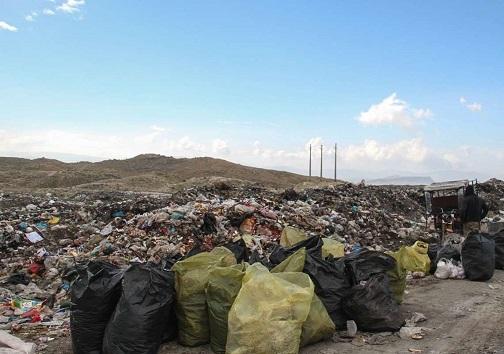 محل دفع زباله در راسفند