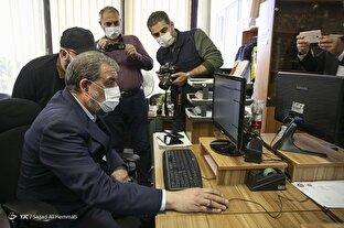 نشست خبری دبیر مجمع تشخیص مصلحت نظام در باشگاه خبرنگاران جوان