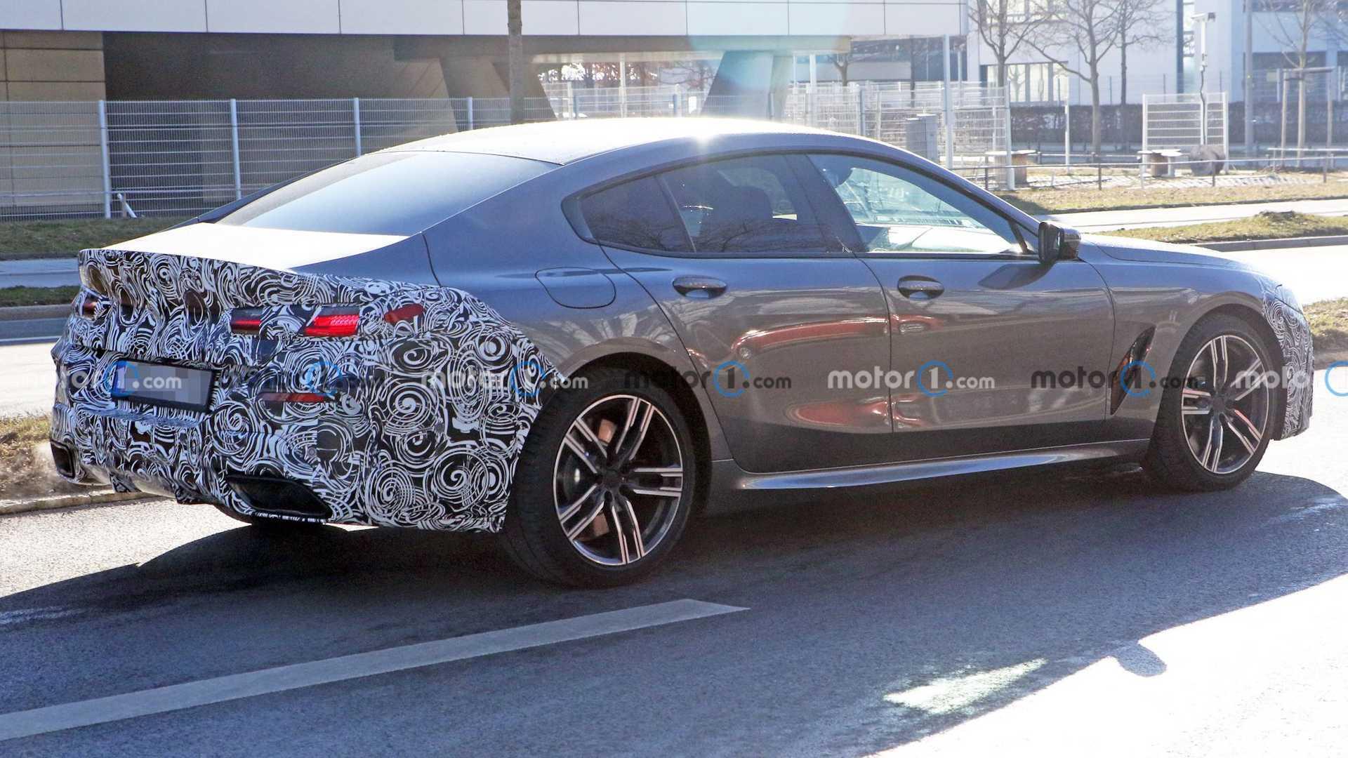 مدل به روز شده BMW ۸