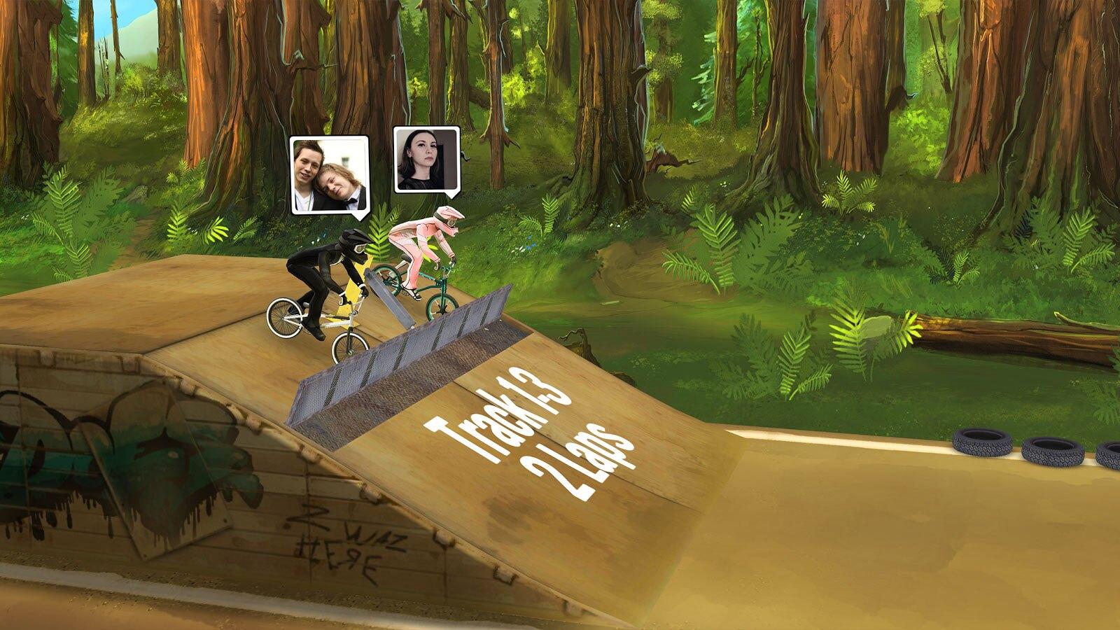 دانلود بازی دوچرخه  Mad Skills BMX 2