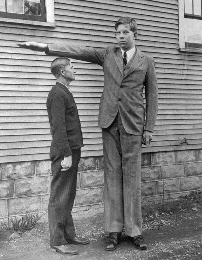 بلند قدترین مرد جهان