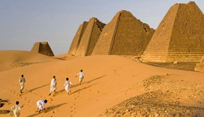 اهرام نوبیا در سودان