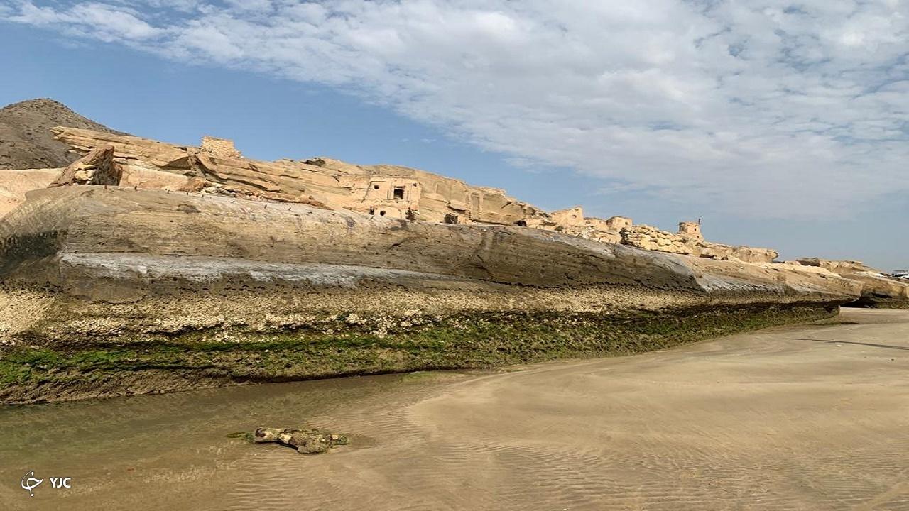 ساحل زیبای بنود در عسلویه+ عکس