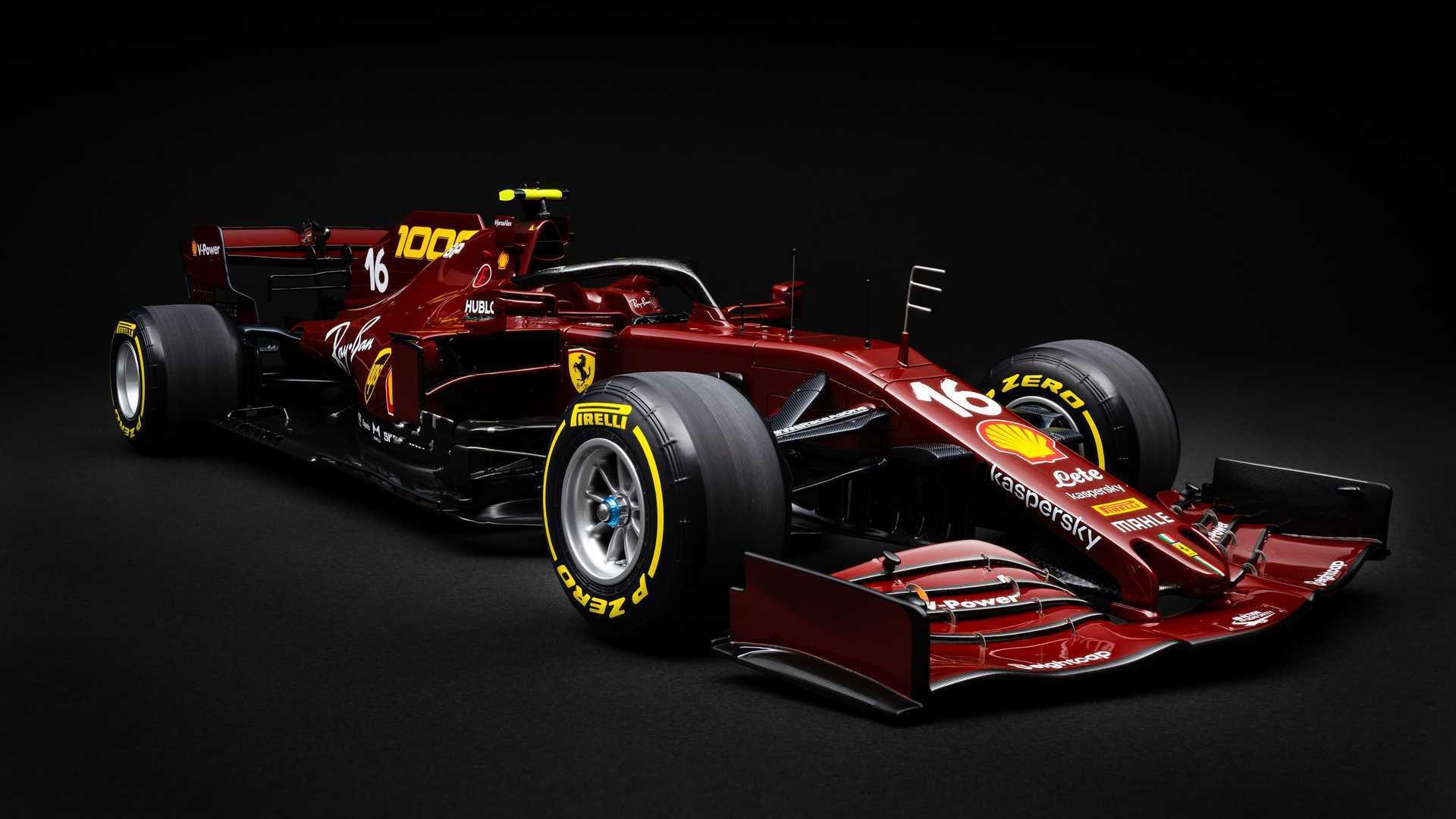 آمالگام از مدل Ferrari SF1000 با مقیاس 1: 8 با 1000th GP Livery رونمایی کرد