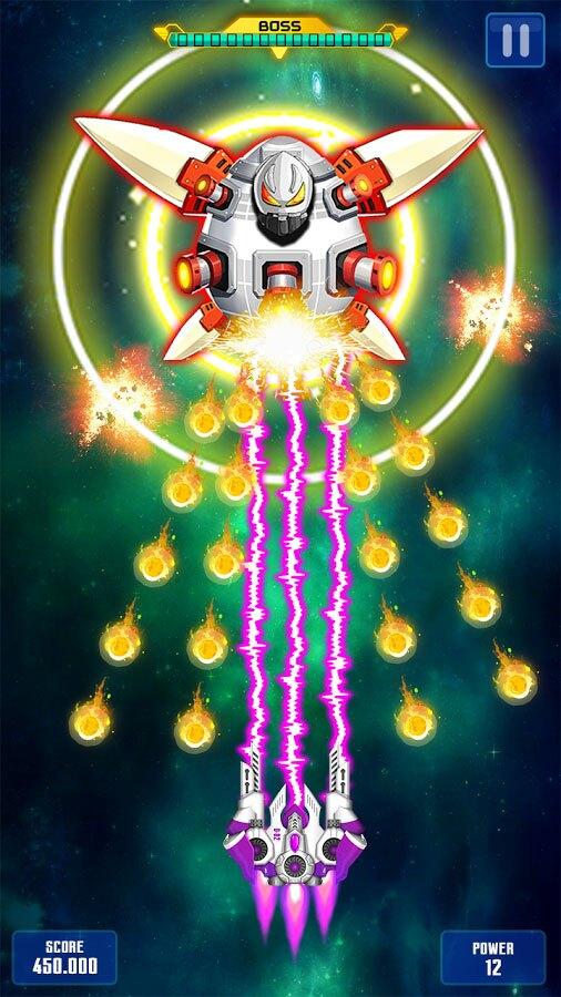 بازی تیرانداز فضایی اندروید Space Shooter