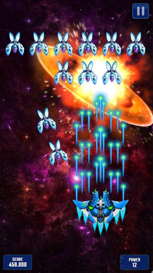 دانلود بازی تیرانداز فضایی Space Shooter