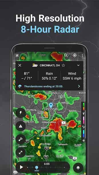 دانلود برنامه رادار طوفان و هواشناسی Storm Weather Radar