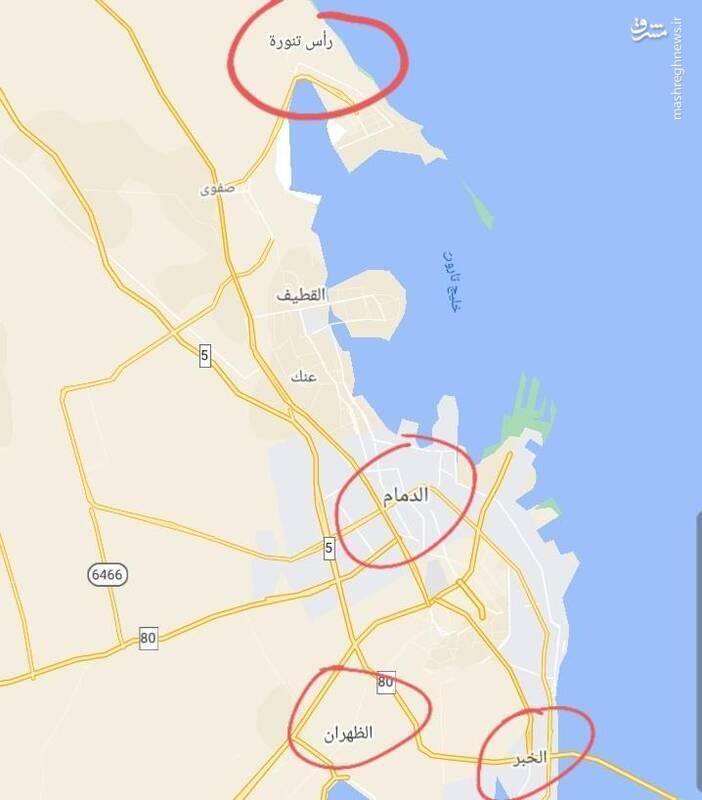 دوربردترین حمله موشکی تاریخ جنگ یمن به خاک سعودی / از پایانههای نفتی شمال تا پایگاههای هوایی جنوب + تصاویر