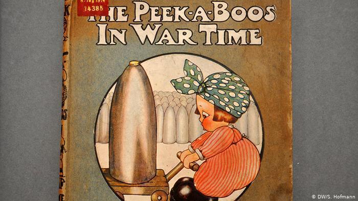 تبلیغات جنگ برای کودکان در جنگ جهانی اول + تصاویر
