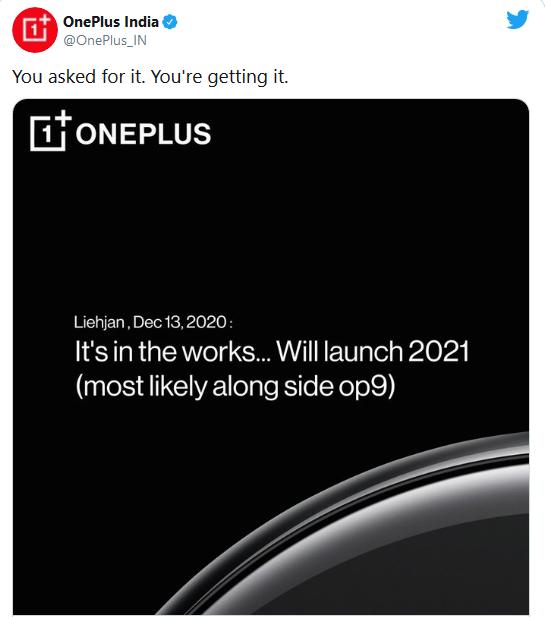 عرضه ساعت OnePlus در 23 مارس 3 فروردین