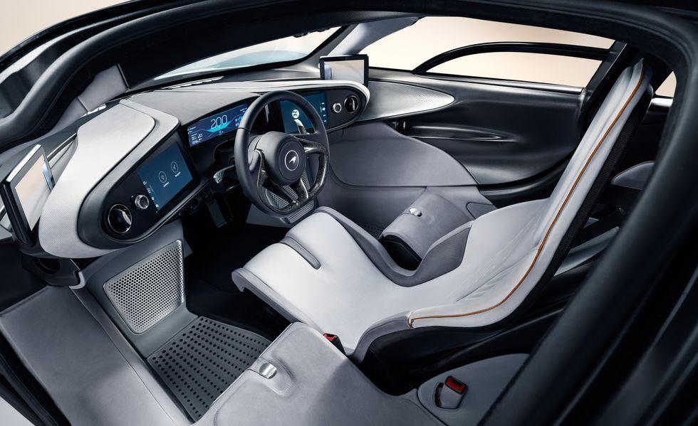 مک لارن Speedtail با خصوصیات و ظاهری اسپرتتر معرفی شد