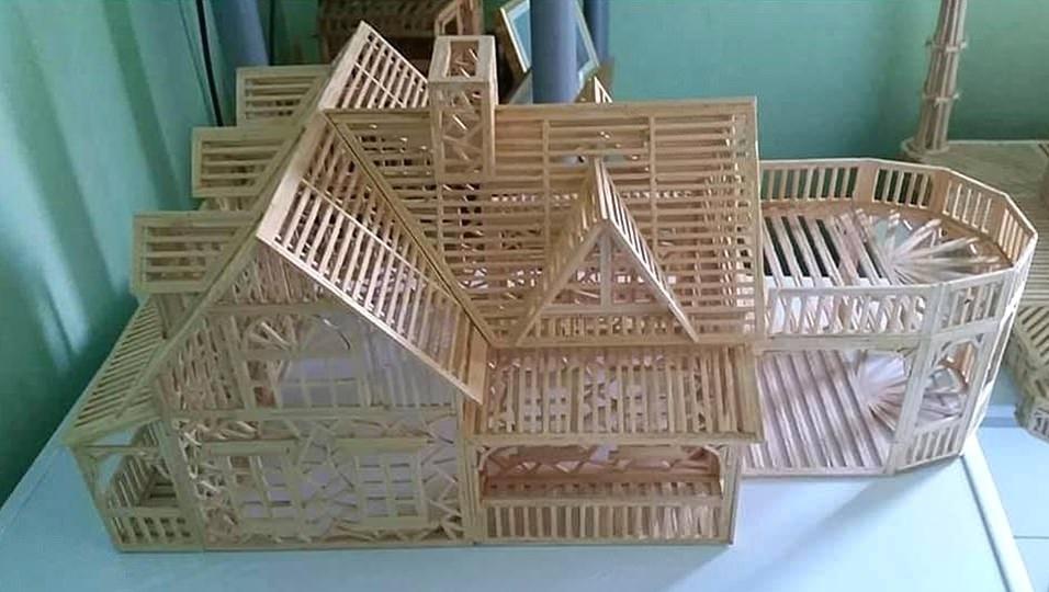 سازه کبریتی
