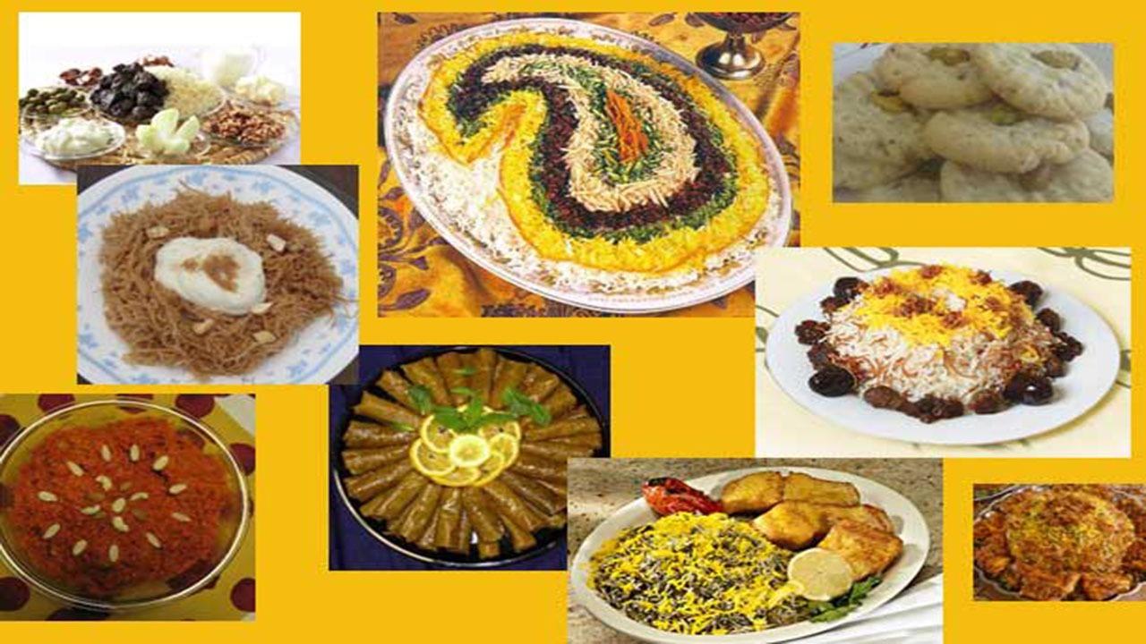 غذاهای شب عید نوروز در شهرهای مختلف ایران