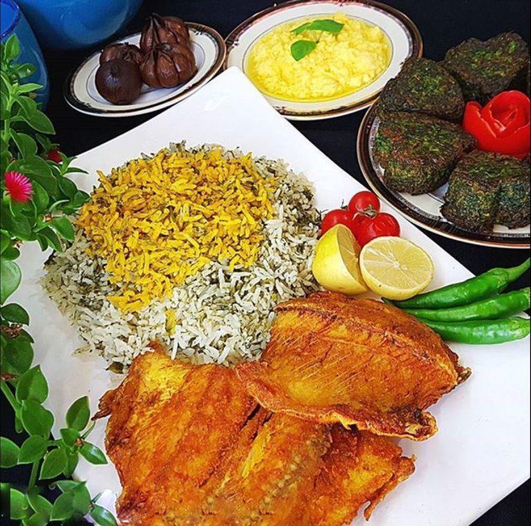 طرز تهیه انواع سبزی پلو با ماهی + فوت و فن مزهدار کردن انواع ماهی حلوا و قزل