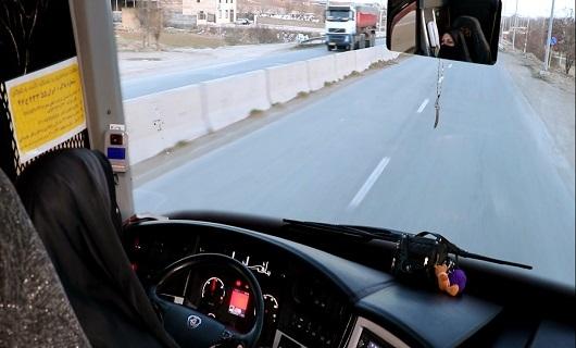 معصومه، نخستین راننده چادری اتوبوس در کشور