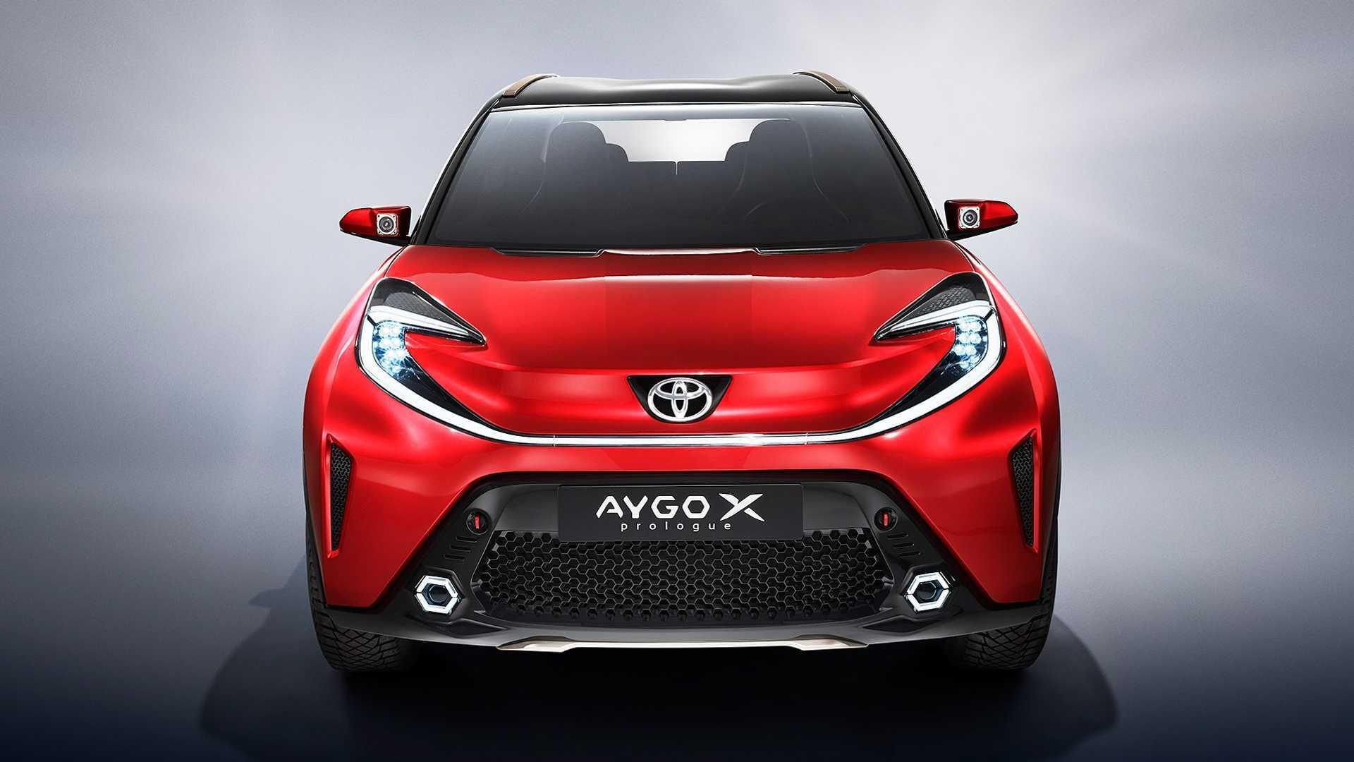 خودروی Toyota Aygo X Prologue با رنگی زیبا در خیابان دیده شد