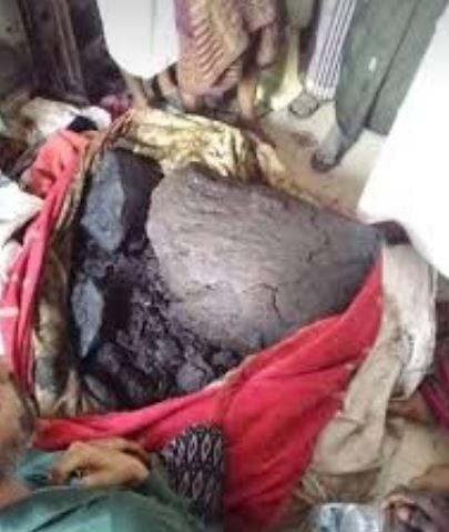 کشف گنجی ارزشمند در معده یک نهنگ مرده در یمن+ تصاویر