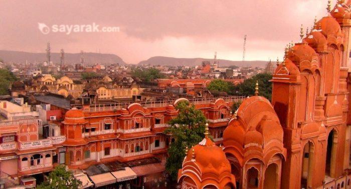 مشهورترین شهرهای تک رنگ در جهان + تصاویر