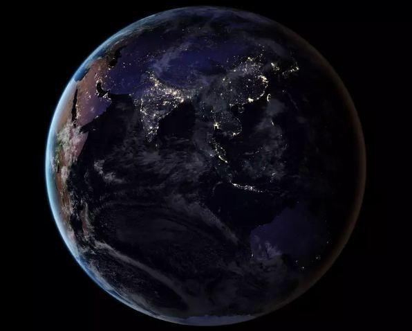۱۰ عکس برتر زمین از فضا 6