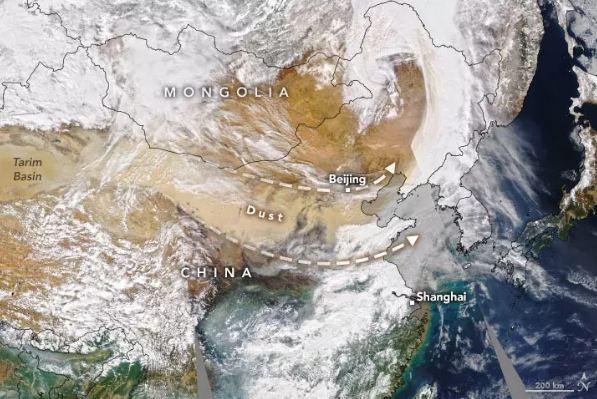 ۱۰ عکس برتر زمین از فضا 7