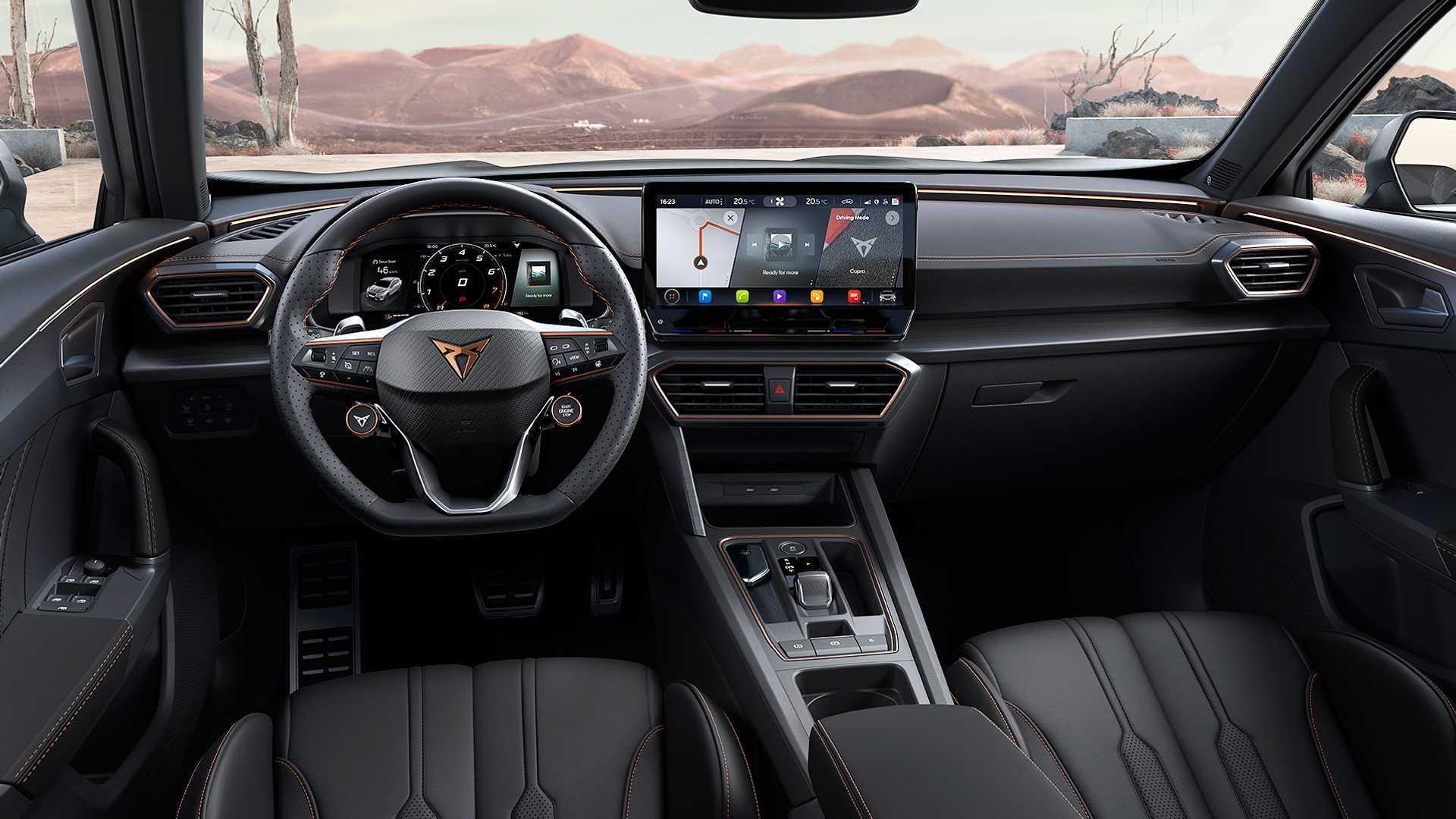 Cupra Formentor VZ5 Hot SUV با قدرت آئودی پنج خطی رونمایی شد