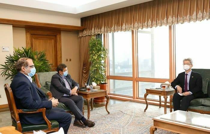 دیدار سفیر کره جنوبی و با همتی