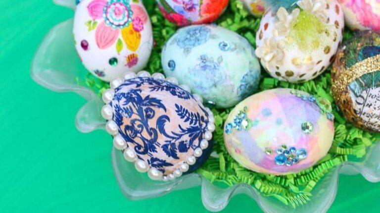 ۸ آموزش جدید تزئین تخم مرغ برای هفت سین سال ۱۴۰۰