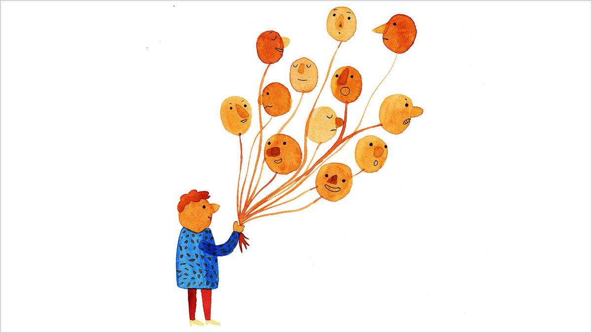 احساسات اصلی و اثرات آنها بر رفتار انسان