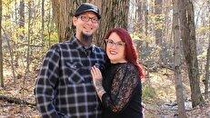 لباس عجیب زوج آمریکایی در جشن نامزدیشان+عکس
