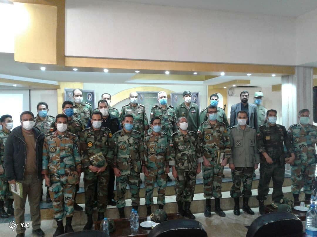 تجلیل از کارکنان نمونه جنوب شرق ارتش در جشنواره خوبان