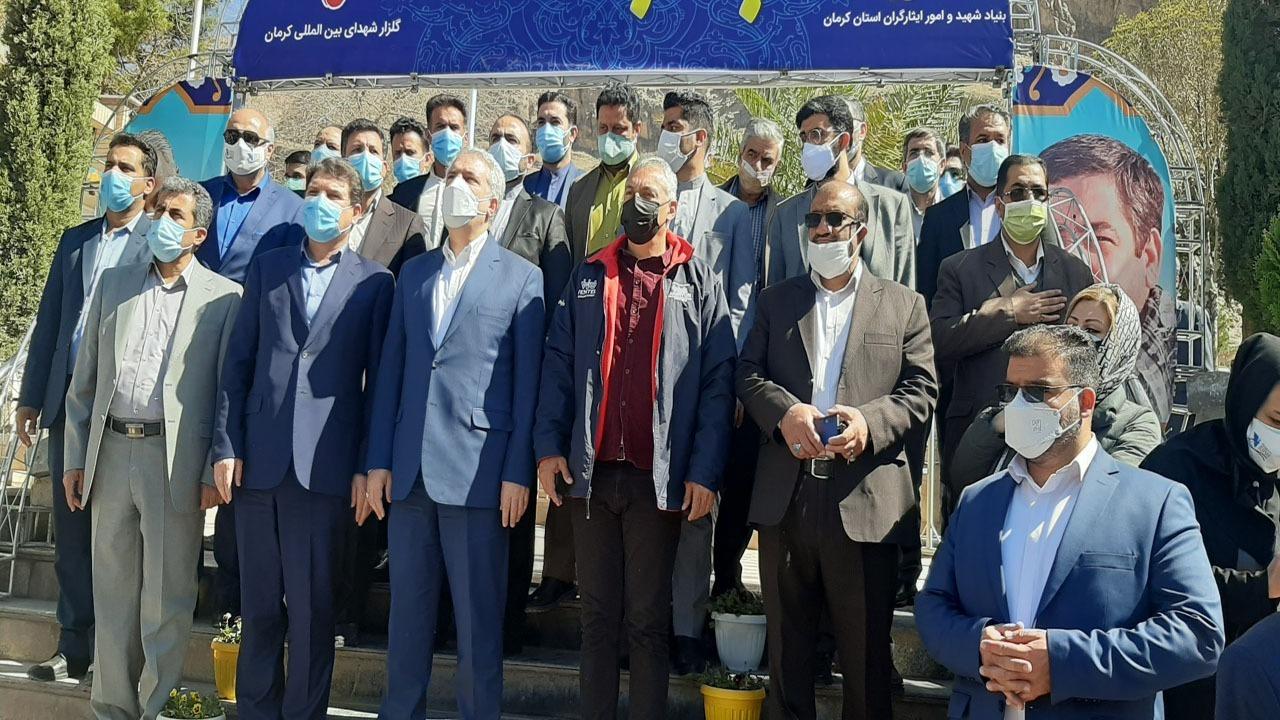 آخرین وضعیت کرونا در کرمان/ حضور وزرای ایران و ونزوئلا در کرمان/ شگفت زدگی وزیر گردشگری ونزوئلا از دیدن مرقد سردار سلیمانی