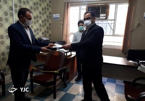 فرهنگیان اهواز تبریک روز پدر را از مدیر آموزش و پرورش ناحیه یک شنیدند