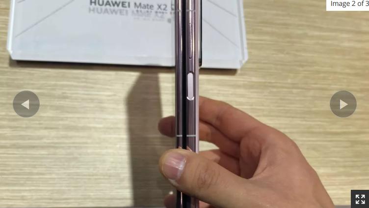 اولین تصاویر از گوشی تاشو جدید Huawei Mate X2