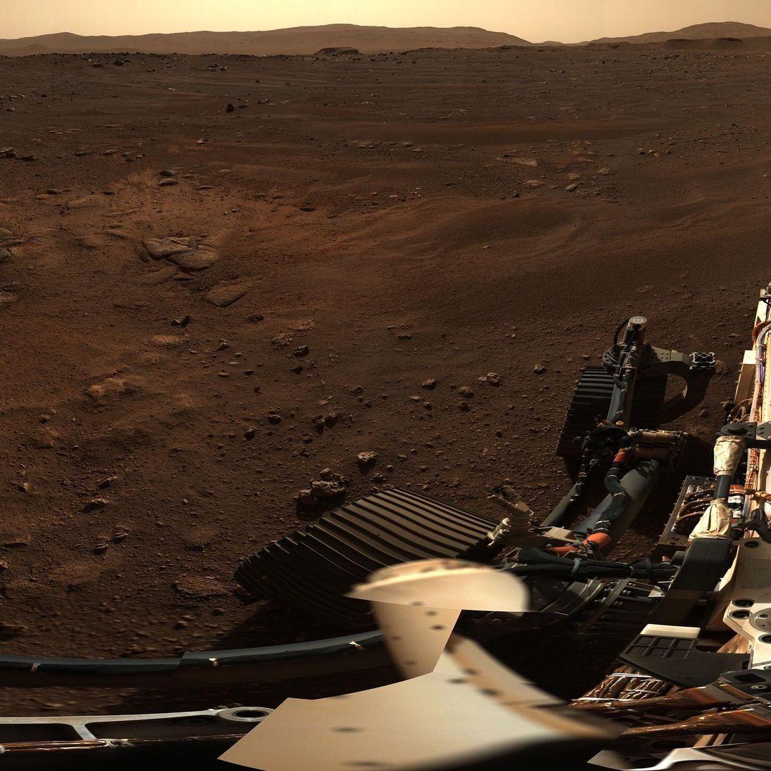 جدیدترین تصاویر سیاره سرخ از ناسا
