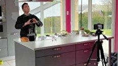 آموزش آشپزی به زبان اشاره توسط سرآشپز فرانسوی