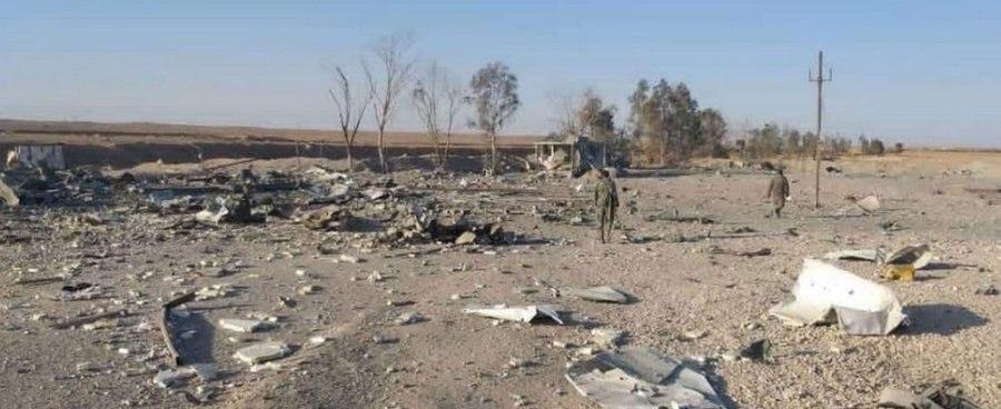 حملات اخیر واشنگتن به جنوب شرق سوریه 02