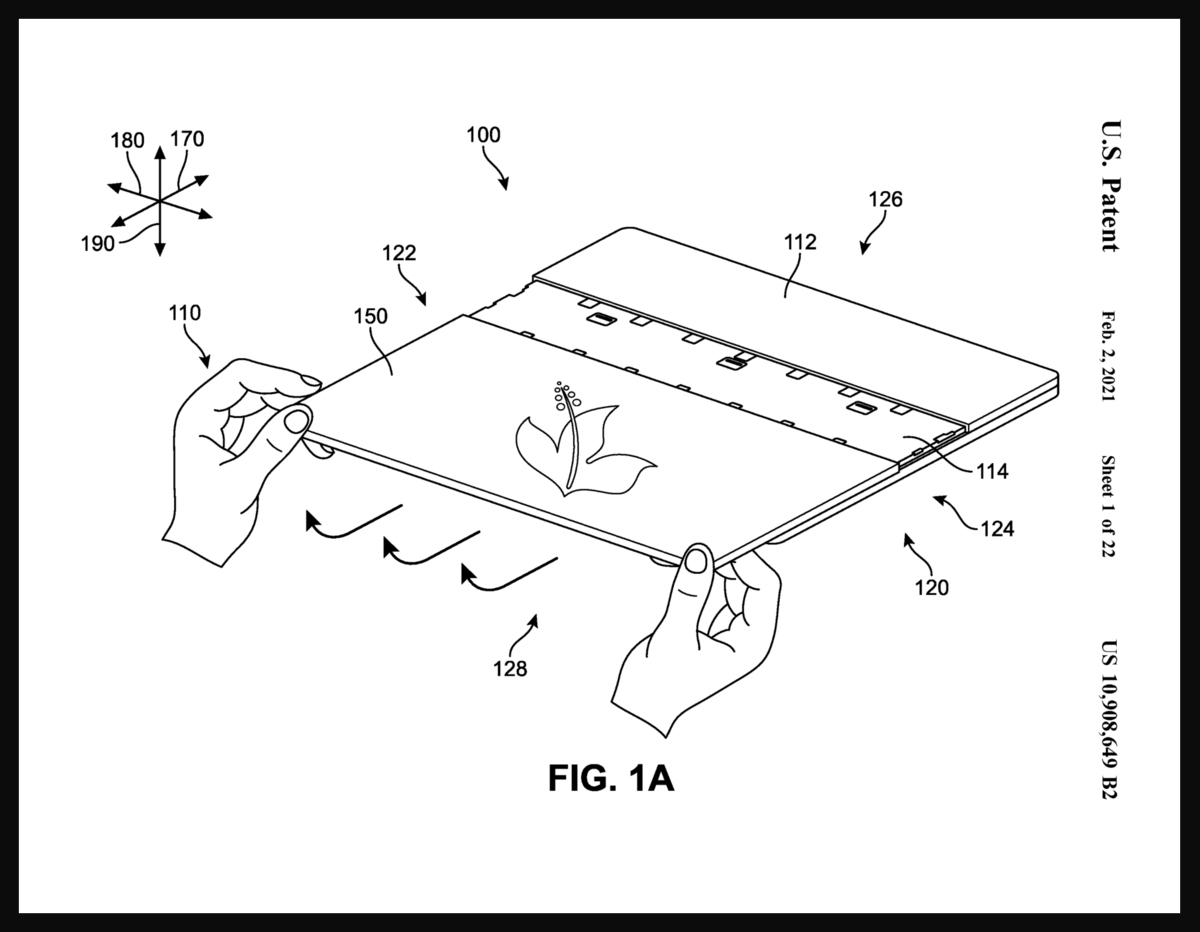 طراحی مایکروسافت برای پشتی های قابل تعویض Surface Laptop
