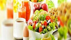 برنامه غذایی ۱۳ روزه برای کاهش ۷ کیلو وزن