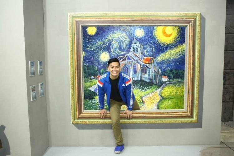 موزه هنر در جزیره،بزرگترین موزه هنری سه بعدی آسیا