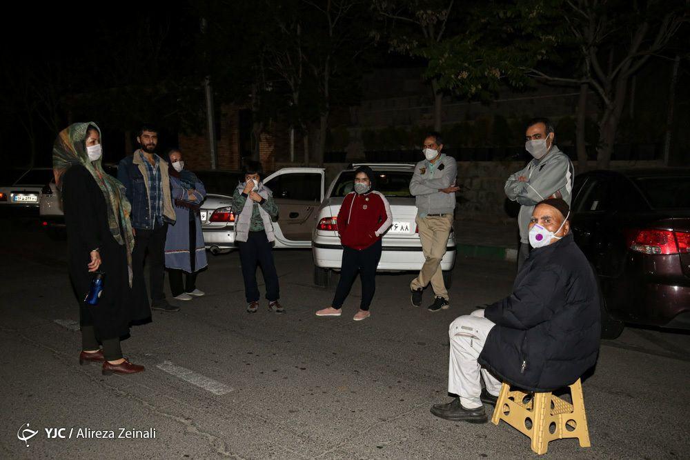 آخرین اخبار از زلزله تهران/خوشبختانه در تهران هیچ مورد تخریب نداشتیم