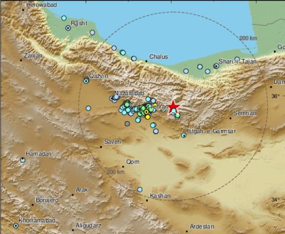 زلزله دماوند چقدر خطرناک بود؟