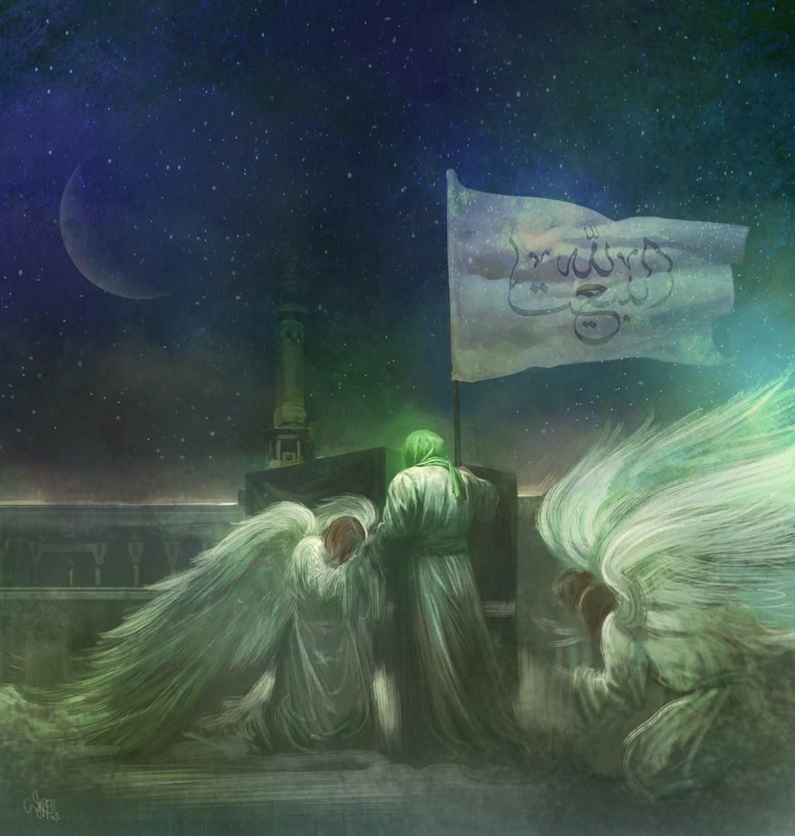 تصویری از ظهور امام زمان (عج) به روایت حسن روحالامین+ عکس
