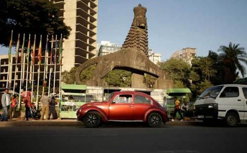 فولکس قورباغهای خودروی محبوب مردم حَبَشه (+عکس)